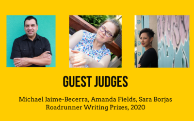 Guest Judges for 2020 Roadrunner Prizes in Fiction, Nonfiction, and Poetry