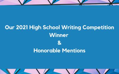 2021 High School Writing Contest