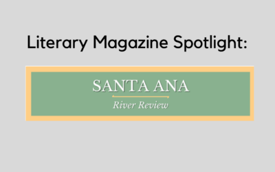 Literary Magazine Spotlight: Santa Ana River Review