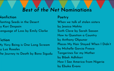 Nominations for 2021 Best of the Net